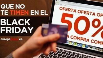 Consejos para evitar ser estafado en el Black Friday