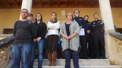 Minuto de silencio en Andratx por el último asesinato machista en Mallorca