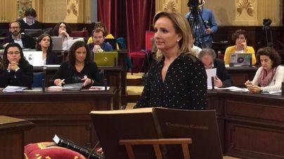 Mabel Cabrer vuelve al Parlament