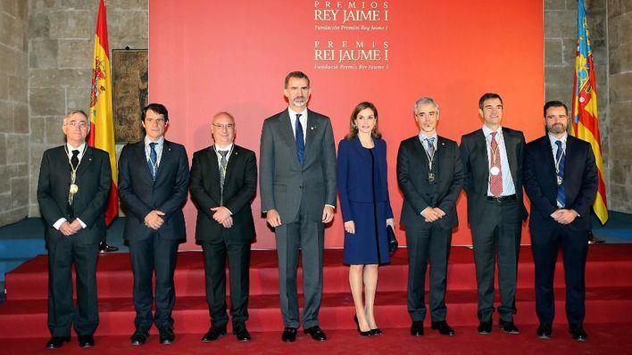 Los Reyes entregan los Premios Rey Jaime I en Valencia