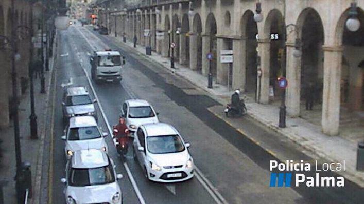 Jaume III, abierta de nuevo al tráfico