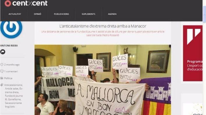 La Fundació Jaume III deplora que el Govern subvencione a medios que hacen apología del odio