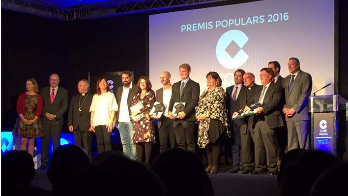 Cope Mallorca entrega los Premis Populars