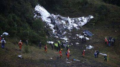 El avión siniestrado tuvo un fallo eléctrico total