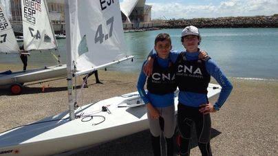 Cazador y Vilariño van al Campeonato de España de Clase Laser 4.7
