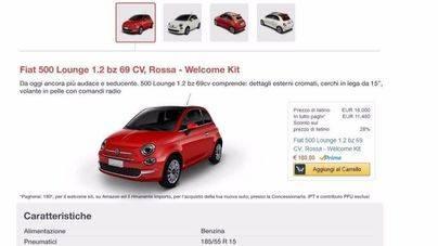 Ya se pueden comprar coches en Amazon