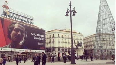 La 'Blanca Navidad' en la Puerta del Sol desata la polémica