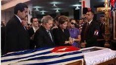 Imagen del funeral de Fidel Castro