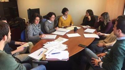 Imagen de la reunión del grupo de trabajo