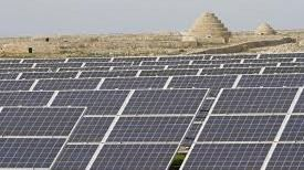Imagen de placas fotovoltaicas
