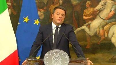 Matteo Renzi dimite tras perder el referéndum constitucional