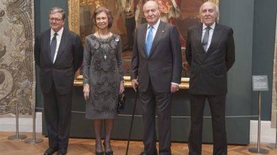 El Rey Juan Carlos y la Reina Sofía, juntos gracias a una exposición