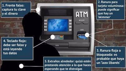 7 consejos para evitar el robo de información de la tarjeta bancaria