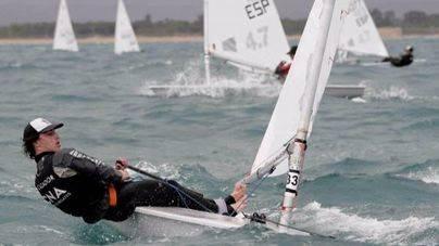 Pep Cazador, regatista del Club Nàutic s'Arenal, campeón de España sub16
