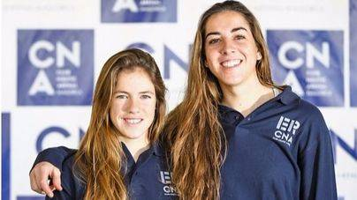 Silvia Mas y Paula Barceló, del CN s'Arenal, compiten en Porto Maurizi