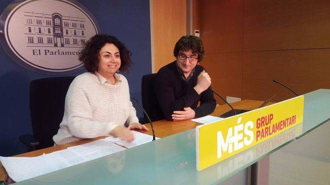 Joana Aina Campomar, a la izquierda, puede ser la apuesta de Més