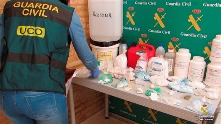 La Guardia Civil ha detenido a 12 personas en Valencia y Menorca