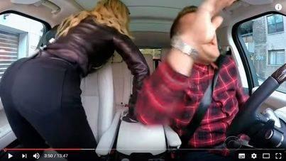 Madonna se marca un twerking en un coche por Manhattan