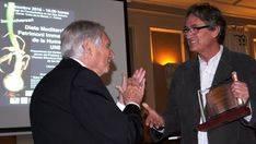 Joan Rita recibe el premio 'Luis Ramallo'