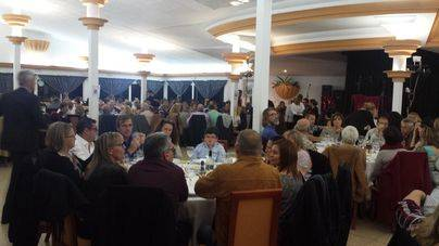Los voluntarios de Son Reus suman 320 personas a su cena navideña