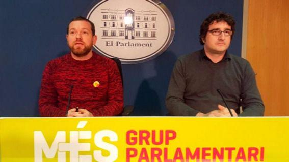 Més denuncia que el Estado quiere vetar autonomías