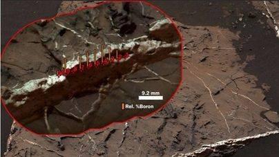 Nuevo hallazgo en el Monte Sharp de Marte dentro del cráter Gale