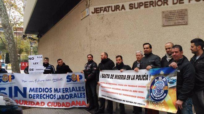 El Sindicato Unificado de Policía advierte que Palma ha tenido noches con un solo radio patrulla y dos policías