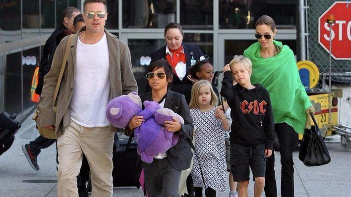 Brad Pitt podría no ver a sus hijos en Navidad