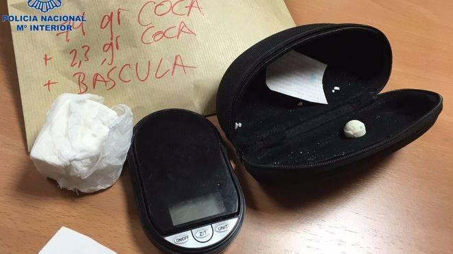 Detenido el presunto traficante de cocaína que abandonó moribunda a una 'mula'