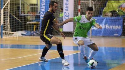 El Palma Futsal no pasa del empate ante el Jaén