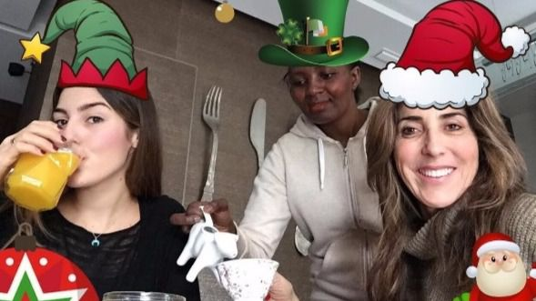 Paz Padilla desata la polémica al felicitar la Navidad con su asistenta