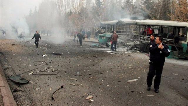 Ascienden a 14 los muertos por el atentado en Turquía
