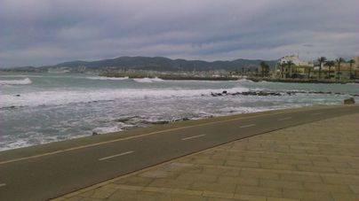 AEMET mantiene la alerta amarilla en Mallorca para el domingo y el lunes