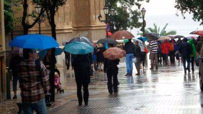 El temporal que afecta el sudeste de la península llega en las próximas horas a Balears
