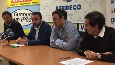 Fran Sobrino, Rafael Ballester, Arturo Para y Antoni Vilella, de AFEDECO