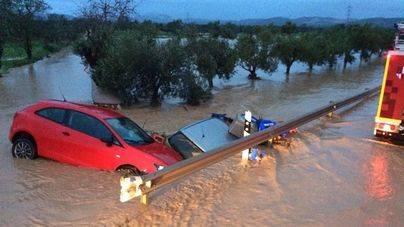 Vea los vídeos de las inundaciones