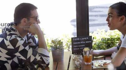 Miguel Ángel Silvestre y la novia de Cristiano Ronaldo, juntos