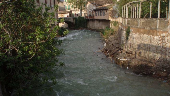 El Govern vigila los torrentes por riesgo de inundaciones