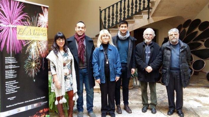 Imagen de la presentación del VIII concierto del Orfeó Ramón Llull