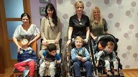La Asociación Arka recauda fondos para el tratamiento de niños con parálisis cerebral