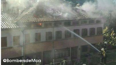 Extinguido el incendio en una vivienda en Bunyola
