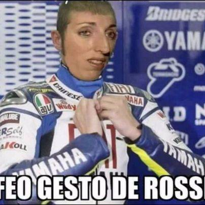 Rossi la vuelve a liar