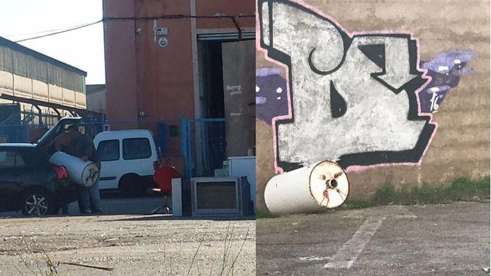 Son Castelló y Can Valero han alertado de más de 300 vertidos ilegales en 2016
