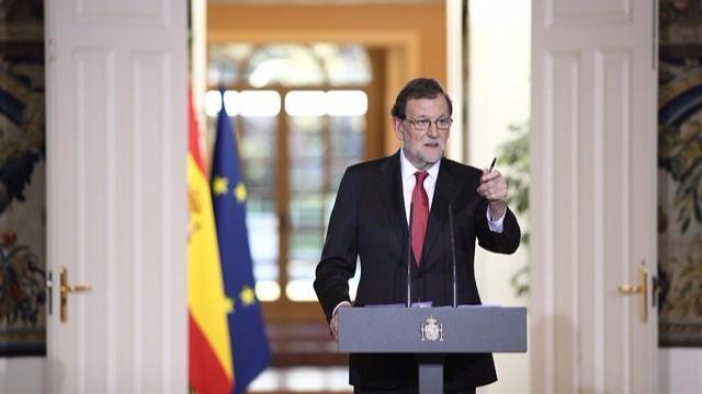 Rajoy reitera que no habrá referéndum en Cataluña