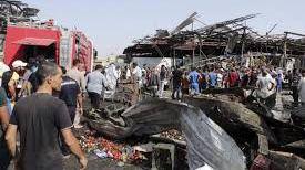 30 muertos y 60 heridos en dos explosiones simultáneas en Bagdad