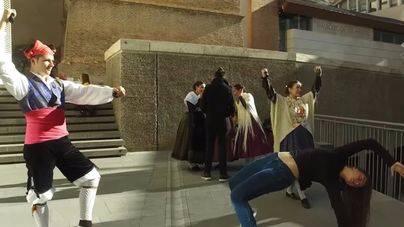 Teruel deja con la boca abierta con su Mannequin Challege multitudinario