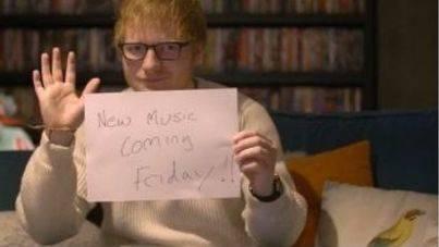 Ed Sheeran regresa este viernes con nuevo single