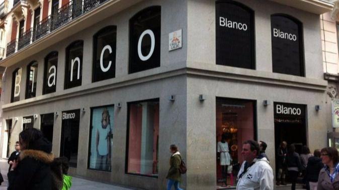 Blanco cerrará sus tiendas de forma progresiva