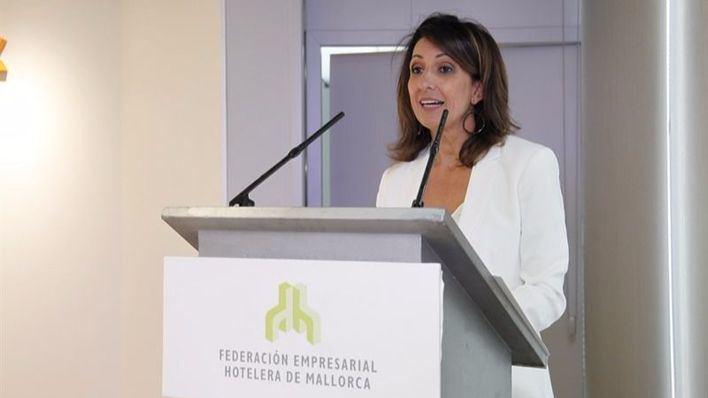 Inmaculada de Benito, presidenta de la Federación Empresarial Hotelera de Mallorca