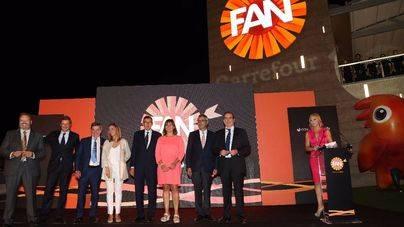 Imagen de la inauguración del centro comercial del Coll, 'Fan Mallorca'